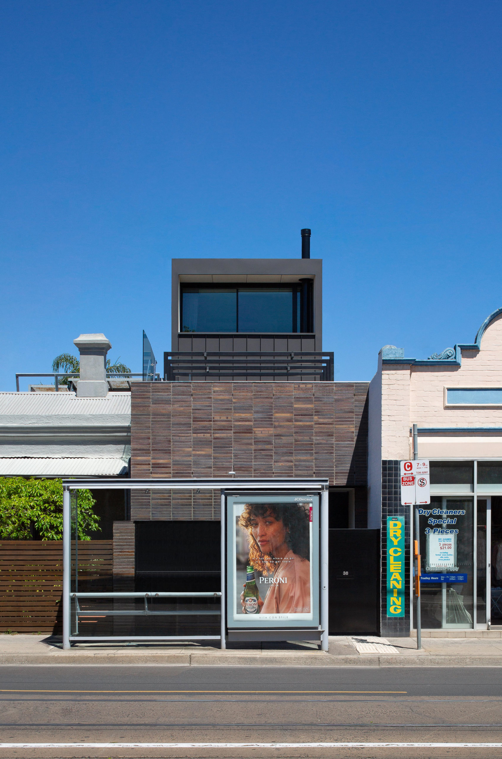 Cera Stribley Architecture Interior Design Commercial Road exterior street view