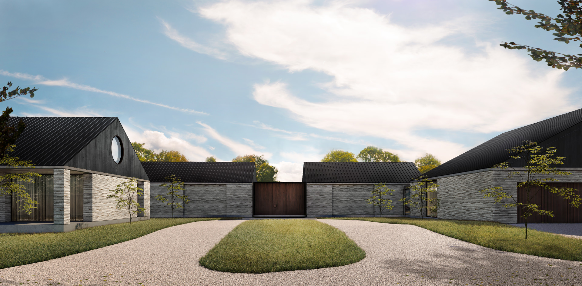 Cera Stribley Architecture Interior Design Country Residence exterior landscape