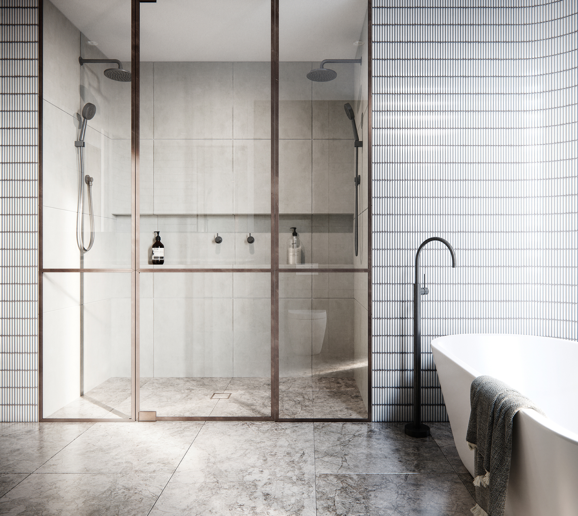Cera Stribley Architecture Interior Design Marmont interior bathroom