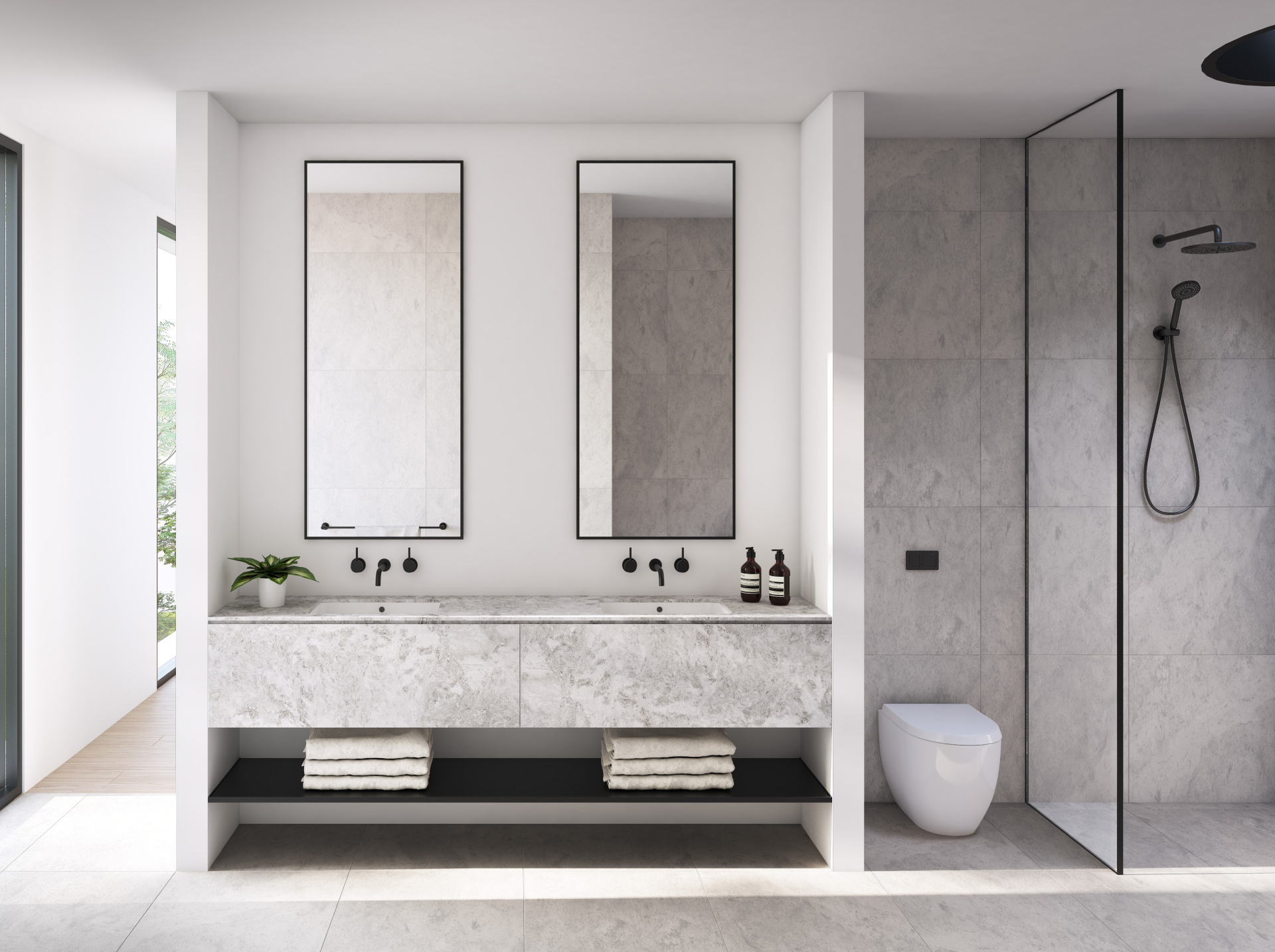 Cera Stribley Architecture Interior Design Renwick interior bathroom