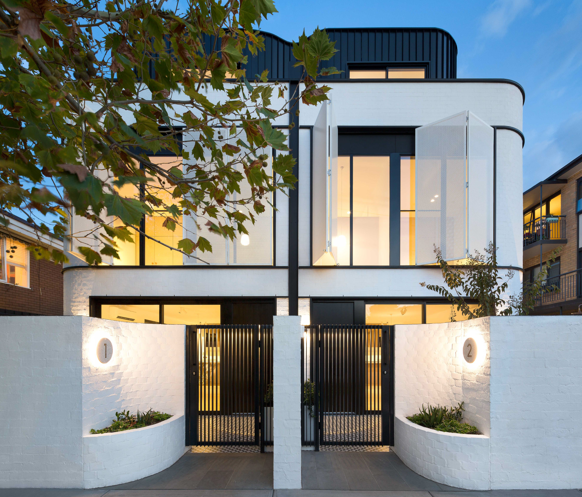 Cera Stribley Architecture Interior Design Pine Ave Exterior residential street view