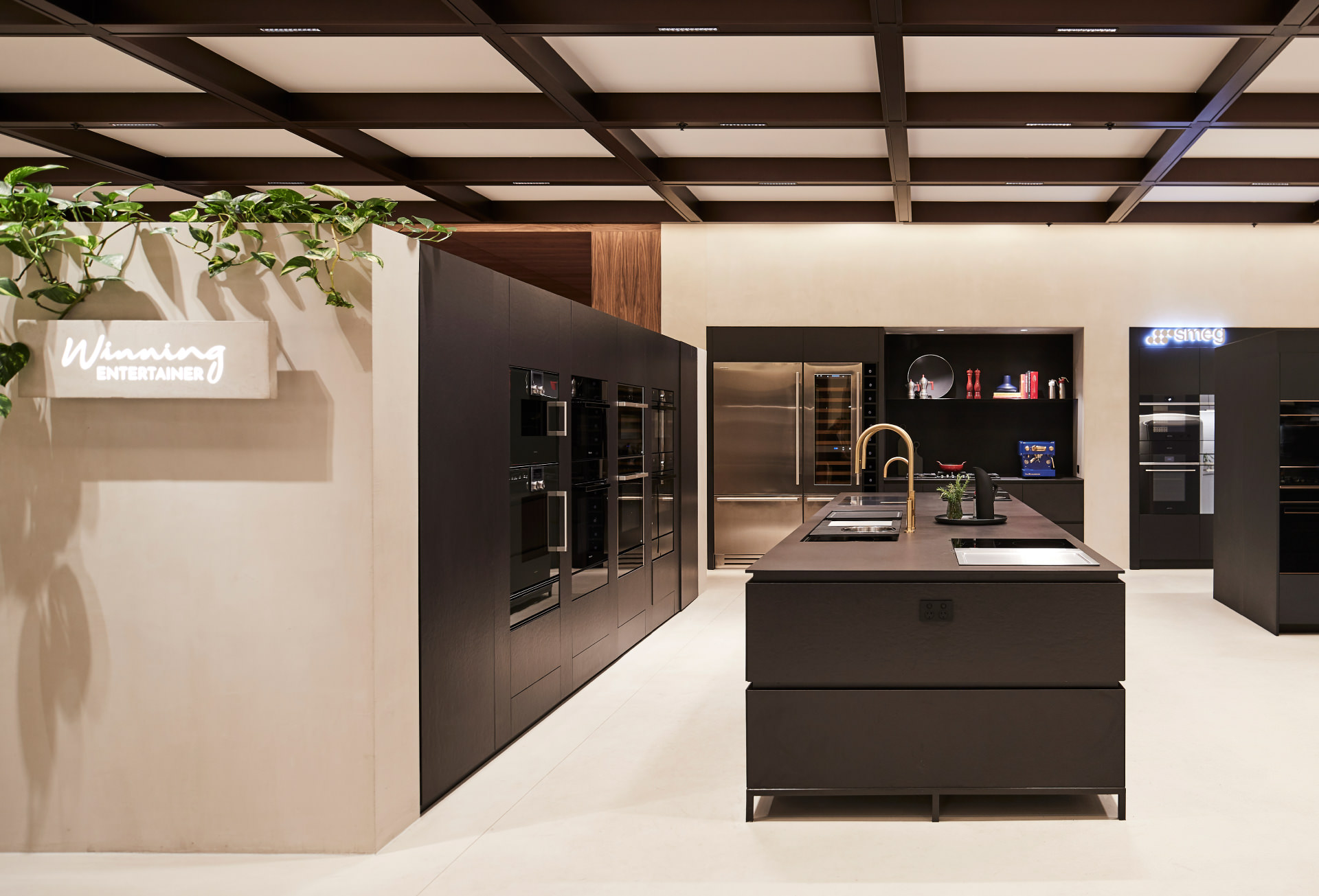 Cera Stribley Architecture Interior Design Winning Appliances Chadstone winning entertainer display