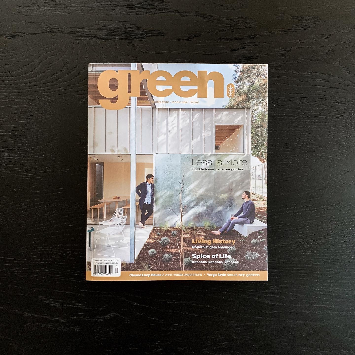 Sorrento House featured in Green Magazine